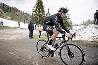 Nikias Arndt (DEU/DSM) up the final part of the Monte Zoncolan <br /> <br /> 104th Giro d'Italia 2021 (2.UWT)<br /> Stage 14 from Cittadella›Monte Zoncolan (205km)<br /> <br /> ©kramon