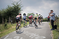 breakaway group up La Redoute<br /> <br /> Ster ZLM Tour (2.1)<br /> Stage 4: Hotel Verviers > La Gileppe (Jalhay)(190km)