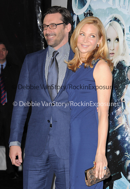 Jon Hamm and Jennifer Westfeldt at The Warner Bros. Pictures World Premiere of Sucker Punch held at The Grauman's Chinese Theatre in Hollywood, California on March 23,2011                                                                               © 2010 Hollywood Press Agency