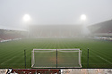 GENERAL VIEW OF EAST END PARK AT 13.45 AFTER REFEREE BOBBY MADDEN CALLED THE GAME OFF