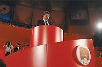 """- 19° congresso del P.C.I. (Partito Comunista Italiano),il primo dopo la svolta politica detta """"della Bolognina"""" che porterà il partito allo scioglimento; parla il segretario Achille Occhetto (marzo 1990)<br /> <br /> - 19th congress of P.C.I.  (Italian Communist Party), the first after the political turn known as """"of the Bolognina"""" that will carry the party to the breakup; speak the secretary Achille Occhetto (Mars 1990)"""