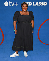 """15 July 2021 - West Hollywood, California - Ashley Nicole Black. Apple's """"Ted Lasso"""" Season 2 Premiere held at the Pacific Design Center. Photo Credit: Billy Bennight/AdMedia"""