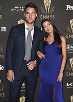 NORTH HOLLYWOOD - SEPT 17: Justin Hartley and Sofia Pemas at the exclusive reception honoring the 73rd Emmy Awards Performer Nominees at the Television Academy on September 17, 2021 in North Hollywood, California. (Photo by Scott Kirkland/PictureGroup)