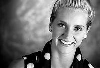 La nageuse olympique<br /> Sylvie Frechette<br /> , date inconnue,<br /> probablement fin des annees 90<br /> <br /> <br /> PHOTO :  Agence Quebec Presse