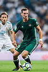 Fabian Ruiz Pena of Real Betis in action during the La Liga 2017-18 match between Real Madrid and Real Betis at Estadio Santiago Bernabeu on 20 September 2017 in Madrid, Spain. Photo by Diego Gonzalez / Power Sport Images