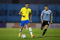 17th November 2020; Centenario Stadium, Montevideo, Uruguay; Fifa World Cup 2022 Qualifying football; Uruguay versus Brazil;  Danilo of Brazil