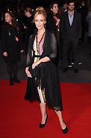 "Miranda Raison<br /> arriving for the London Film Festival 2017 screening of ""Breathe"" at the Odeon Leicester Square, London<br /> <br /> <br /> ©Ash Knotek  D3318  04/10/2017"