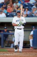 West Michigan Whitecaps designated hitter Will Maddox (11) at bat during a game against the Burlington Bees on July 25, 2016 at Fifth Third Ballpark in Grand Rapids, Michigan.  West Michigan defeated Burlington 4-3.  (Mike Janes/Four Seam Images)