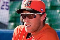 11 March 2009: #18 Dirk Van't Klooster of the Netherlands waits during batting practice prior to the 2009 World Baseball Classic Pool D game 6 at Hiram Bithorn Stadium in San Juan, Puerto Rico. Puerto Rico wins 5-0 over the Netherlands