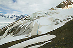 Scenic Of Mountains & Glacier