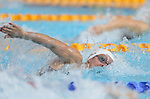 Glasgow 2014 Commonwealth Games<br /> Disapointment for Wales swimmer Jazz Carlin finishing 6th in the final of the womens 200m Freestyle<br /> Tollcross Swimming Centre<br /> <br /> 24.07.14<br /> ©Steve Pope-SPORTINGWALES