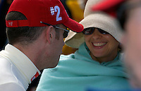 .Marino Franchitti with sister-in-law Ashly Judd
