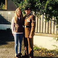 Pictured: Matthew Hatfield (R), image taken from open social media page.<br /> Re: An inquiry into the deaths of two soldiers and the serious injury of two others at a Ministry of Defence base in Pembrokeshire is continuing.<br /> The Royal Tank Regiment soldiers died after the incident at Castlemartin Range on Wednesday.<br /> They have been named by their commanding officer as Corporals Matthew Hatfield and Darren Neilson.<br /> The MoD, Dyfed-Powys Police and Health and Safety Executive are investigating.<br /> The incident is understood to have involved a tank shell exploding within a Challenger 2 battle tank. The MoD has suspended tank live firing exercises by British military as a precaution.<br /> The second death, at University Hospital of Wales, Cardiff, was announced on Thursday night by Minister for Defence, People and Veterans, Tobias Ellwood.<br /> It followed an earlier announcement of the first death at Morriston Hospital on Thursday morning.