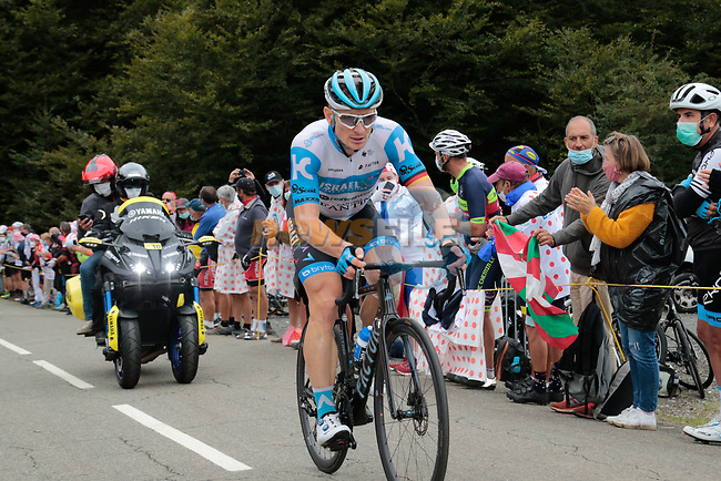 André Greipel (GER) Israel Start-Up Nation climbs Col de Marie Blanque during Stage 9 of Tour de France 2020, running 153km from Pau to Laruns, France. 6th September 2020. <br /> Picture: Colin Flockton | Cyclefile<br /> All photos usage must carry mandatory copyright credit (© Cyclefile | Colin Flockton)