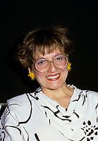 Montreal (Qc) CANADA - May 12, 1985 File Photo -Angele Arsenault