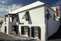 Bermuda, St. George's Parish, Tucker House Museum along Water Street in St George in Bermuda.