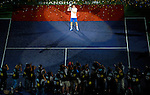 SHANGHAI, CHINA - OCTOBER 17:  Andy Murray of Great Britain poses for photographers with trophy after his victory over to Roger Federer of Switzerland on the singles final match during day seven of the 2010 Shanghai Rolex Masters at the Shanghai Qi Zhong Tennis Center on October 17, 2010 in Shanghai, China.  (Photo by Victor Fraile/The Power of Sport Images) *** Local Caption *** Andy Murray