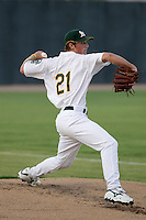 Ian Krol - AZL Athletics (2009 Arizona League) pitching in his first professional game against the AZL Angels at Papago Park, Phoenix, AZ - 08/27/2009..Photo by:  Bill Mitchell/Four Seam Images..