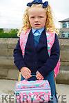 Presentation Primary,Listowel: McKenzie O'Brien, Listowel on her first day at school.