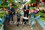 Launching the Park Festival on Friday, Front l to r: Herman Purtov and Aoibhinn Dowling. Back l to r: Michael Scanlon (Kerry County Council) and Cllr: Johnny Wall (Mayor of Tralee),