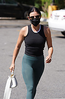 Lucy Hale Gets Some Water at Walgreens In Studio City