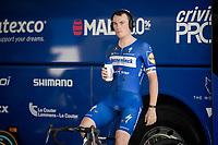 Yves Lampaert (BEL/Deceuninck - Quick-Step) at warm-up<br /> <br /> Stage 13 (ITT): Pau to Pau(27km)<br /> 106th Tour de France 2019 (2.UWT)<br /> <br /> ©kramon