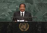72 General Debate – 22 September <br /> <br /> by His Excellency Paul Biya, President of the Republic of Cameroon