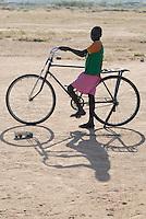 "Afrika Ostafrika Tanzania Tansania , Junge mit Fahrrad in einem Dorf in Meatu - Menschen Kinder xagndaz | .Africa east africa Tanzania , young boy in village in Meatu district - people .| [ copyright (c) Joerg Boethling / agenda , Veroeffentlichung nur gegen Honorar und Belegexemplar an / publication only with royalties and copy to:  agenda PG   Rothestr. 66   Germany D-22765 Hamburg   ph. ++49 40 391 907 14   e-mail: boethling@agenda-fototext.de   www.agenda-fototext.de   Bank: Hamburger Sparkasse  BLZ 200 505 50  Kto. 1281 120 178   IBAN: DE96 2005 0550 1281 1201 78   BIC: ""HASPDEHH"" ] [#0,26,121#]"
