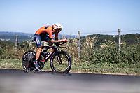 Dylan Teuns (BEL/Bahrain Merida)<br /> <br /> Stage 13: ITT - Pau to Pau (27.2km)<br /> 106th Tour de France 2019 (2.UWT)<br /> <br /> ©kramon