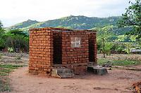 TANZANIA, Kondoa, toilet in Sandawe village / TANSANIA, Kondoa, Toilette in einem Sandawe Dorf