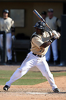 March 7, 2010:  Shortstop Darnell Sweeney of the Central Florida Knights during game at Jay Bergman Field in Orlando, FL.  Central Florida lost to Central Michigan by the score of 7-4.  Photo By Mike Janes/Four Seam Images