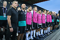 Germany bench lined up for national anthems<br /> Udine 17-06-2019 Stadio Friuli <br /> Football UEFA Under 21 Championship Italy 2019<br /> Group Stage - Final Tournament Group B<br /> Germany - Denmark<br /> Photo Cesare Purini / Insidefoto