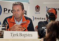 18-02-2005,Rotterdam, ABNAMROWTT , Tjerk Bogtstra tijdens de KNLTB persconferentie