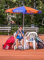 Hilversum, Netherlands, August 9, 2017, National Junior Championships, NJK, Yanik Maarsen<br /> Photo: Tennisimages/Henk Koster