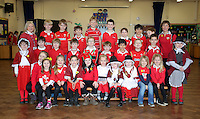 St David's Day, Year 2, at Newton Primary School in Swansea, Wales, UK. Wednesday 01 March 2017