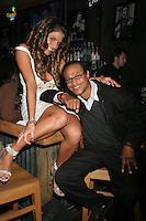 Bridgetta Tomarchio and Clinton H. Wallace<br />at Bridgetta Tomarchio's birthday party. El Guapo Cantina, Los Angeles, CA. 12-08-07<br />Dave Edwards/DailyCeleb.com 818-249-4998