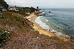 Rocky coastline, Corona del Mar, CA.