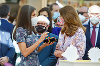MADRID, SPAIN - September 10: **NO SPAIN** Queen Letizia of Spain attends the 2021 Book Fair Opening at El Retiro Park in Madrid, Spain on the September 10, 2021. <br /> CAP/MPI/RJO<br /> ©RJO/MPI/Capital Pictures