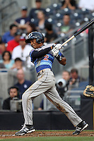 Infielder Oscar Mercado #2 of Gaither H.S. in Tampa, Florida participates in the Perfect Game All American Classic at Petco Park on August 12, 2012 in San Diego, California. (Larry Goren/Four Seam Images)