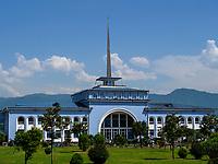 Fährgebäude, Batumi, Adscharien - Atschara, Georgien, Europa<br /> ferry building, Batumi, Adjara,  Georgia, Europe