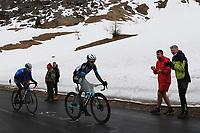 24th May 2021, Giau Pass, Italy; Giro d'Italia, Tour of Italy, route stage 16, Sacile to Cortina d'Ampezzo ; 181 YATES Simon Philip GBR