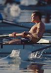 Rowing, Crew, Seattle, Bob Foster, draining the tank, college crew, Lake Washington, University of Washington, men's four workout, Bob Ernst, coach,