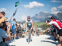 Peter Sagan (SVK/Bora-Hansgrohe) at the gravel section atop the Montée du plateau des Glières (HC/1390m)<br /> <br /> Stage 18 from Méribel to La Roche-sur-Foron (175km)<br /> <br /> 107th Tour de France 2020 (2.UWT)<br /> (the 'postponed edition' held in september)<br /> <br /> ©kramon