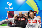 David Eng, Gaetan Tardif, Chantal Petitclerc, Rio 2016.<br />