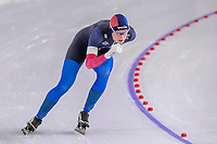 28th December 2020; Thialf Ice Stadium, Heerenveen, Netherlands; World Championship Speed Skating; 5000m ladies, Reina Anema during the WKKT