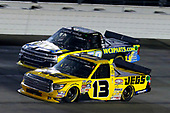 NASCAR Camping World Truck Series<br /> TheHouse.com 225<br /> Chicagoland Speedway, Joliet, IL USA<br /> Friday 15 September 2017<br /> Cody Coughlin, JEGS Toyota Tundra and Josh Reaume, WCIparts.com Chevrolet Silverado<br /> World Copyright: Russell LaBounty<br /> LAT Images