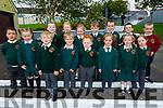The junior infants in Scartaglin NS on Thursday<br /> Front l to r: Ava Kerins, Paddy O'Connell, Jimmy Herlihy, Sean Vaughan, Lucia O'Grady, Fiadh Harkin and Zoe O'Connell.<br /> Back l to r: Cian Murphy Reidy, Padraig O'Sullivan, Aoibhinn McCarthy, Abilgail Ahern, Daniel Lenihan O'Regan, Ronan O'Connor, Jake O'Connell and Daniel Brosnan.