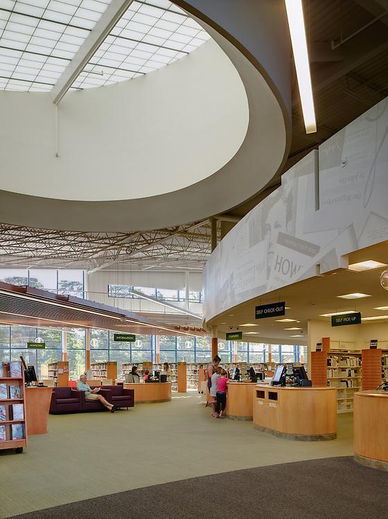 Cuyahoga County Public Library North Royalton Branch   Richard Fleischman & Partners Architects