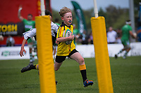 Junior rugby curtainraiser before the Mitre 10 Cup Cup rugby match between Manawatu Turbos and Southland Stags at Manfeild Park in Feilding, New Zealand on Saturday, 1 November 2020. Photo: Dave Lintott / lintottphoto.co.nz
