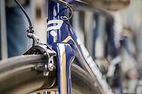 Gold&blue Aquablue team bikes<br /> <br /> 57th Brabantse Pijl - La Flèche Brabançonne (1.HC)<br /> 1 Day Race: Leuven › Overijse (197km)